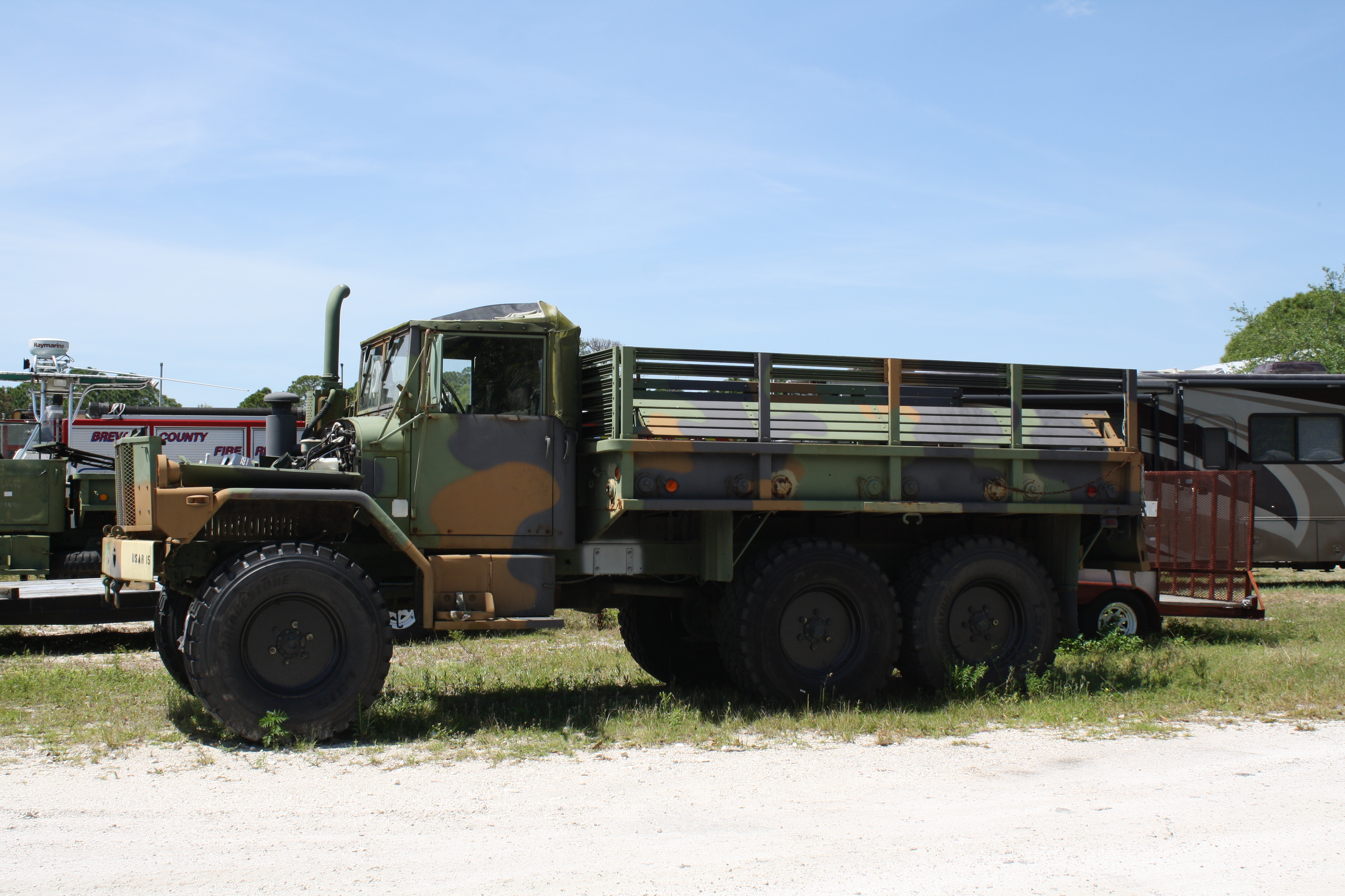 Military surplus truck