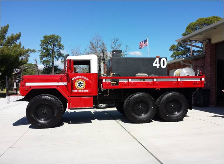 Type 4 brush truck