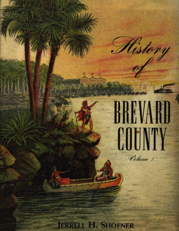 History of Brevard County book cover.