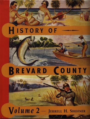 History of Brevard County volume 2 book cover.