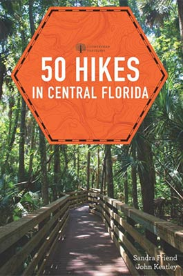50 Hikes In Central Florida Book Cover
