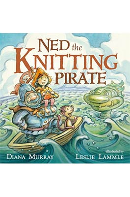 Ned The Knitting Pirate Book Cover