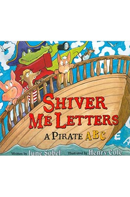 Shiver Me Letters Book Cover