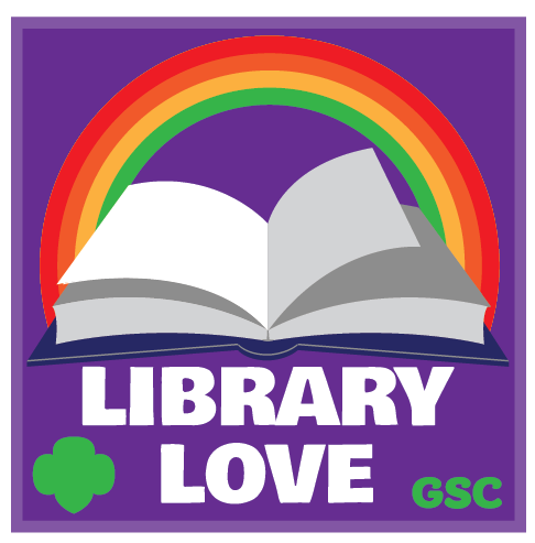 Library Love Badge