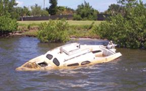 Brevard County Boating and Waterways - Derelict Vessel