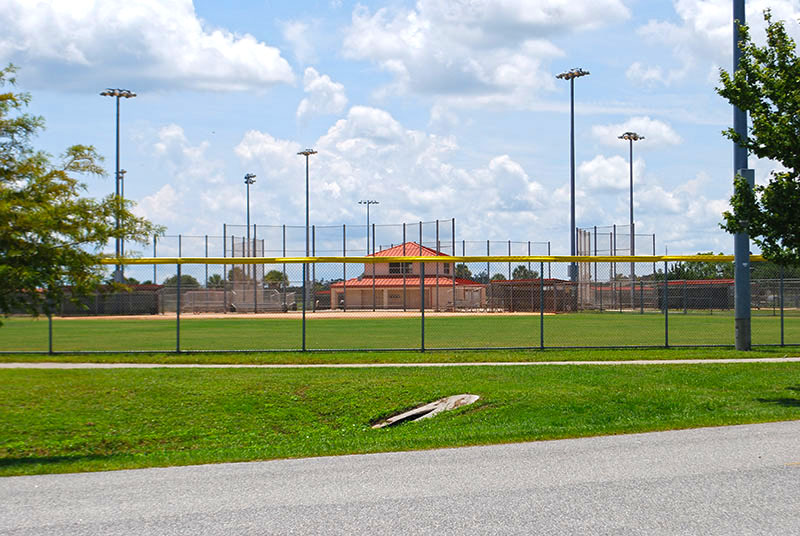Softball fields