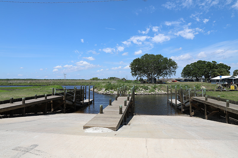 Boat ramps and docks