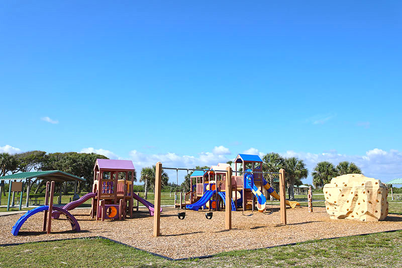 South Beach Community Park Playground Wide