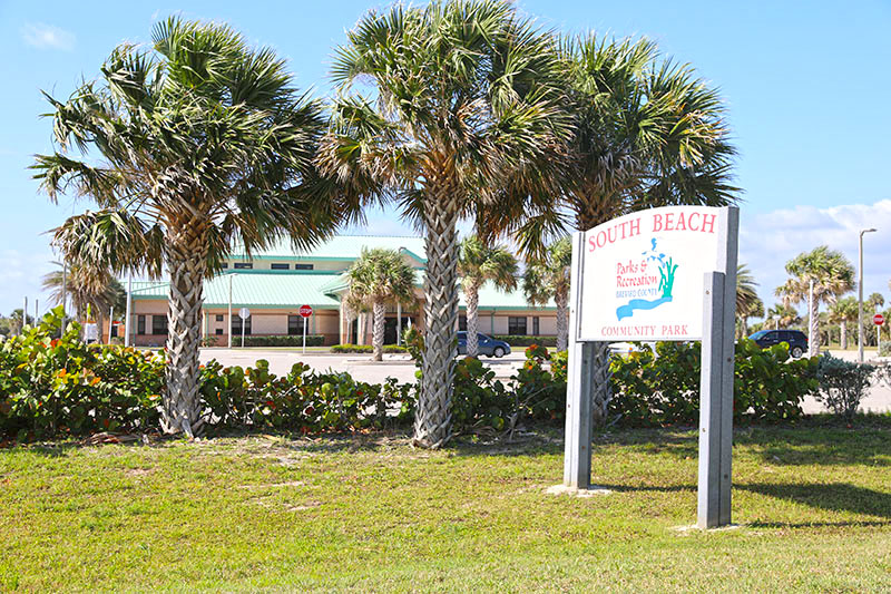 South Beach Community Park Sign