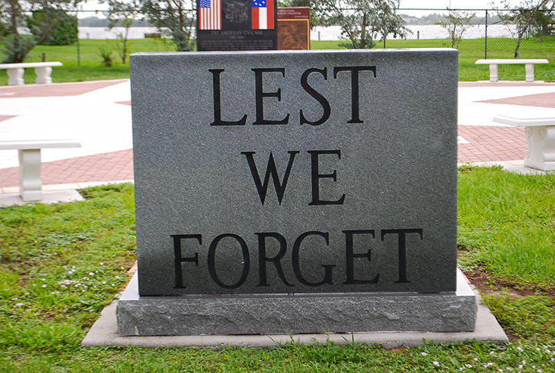 Lest We Forget memorial