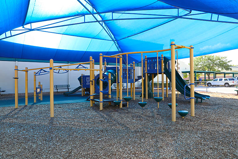 Covered Playground Area