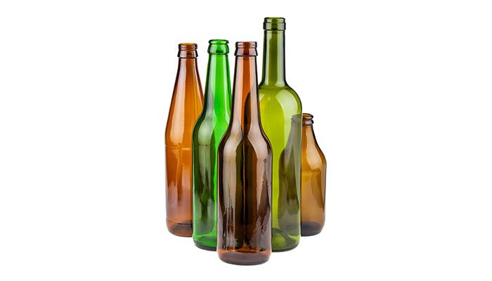 Beer and wine bottles